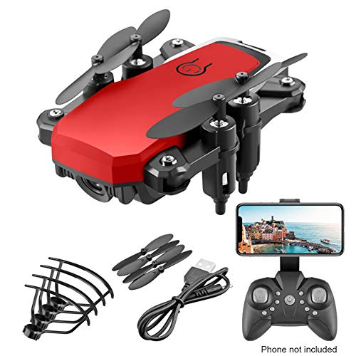 CALIDAKA Professional RC Drone, Mini Remote Control Drone with Camera for Adults Kids Foldable 360 Degree GPS FP-V Drone with HD Camera RC Quadcopter for Beginners Altitude Hold Wide Angle
