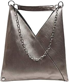 weichuang Bolso de mano de moda de cuero bolsos para mujer bolsos de diseñador de gran capacidad bolsa de hombro bolsas de...