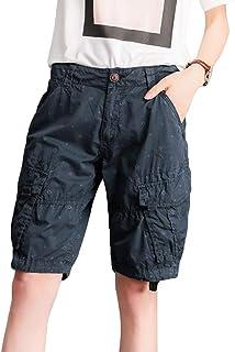 4c726d804b Short Cargo D Extérieur pour D Été Poches Femmes Amples Vêtements de fête  Pantalons Décontractés Pantalon