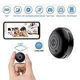 Mini Hidden-Camera WiFi-Spy Camera Wireless 1080P, Oucam Small Spy Cam Nanny Cam with Audio and Video Recording Micro...