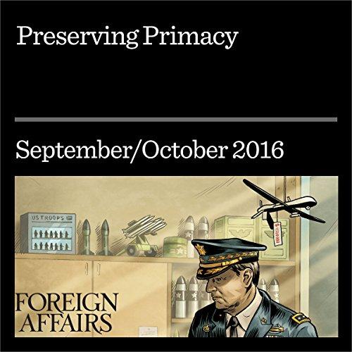 Preserving Primacy audiobook cover art