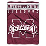 The Northwest Company Mississippi State Bulldogs 'Basic' Raschel Throw Blanket, 60' x 80' , Red