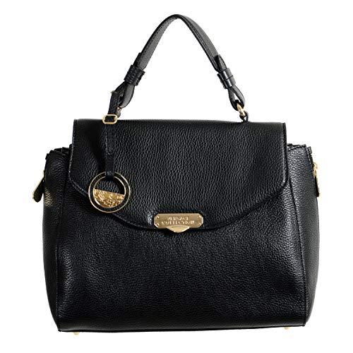 Versace Collection 100% Leather Black Women's Handbag Shoulder Bag