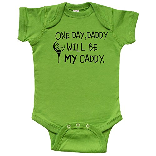 inktastic 1 Day, Daddy Will Be My Caddy- Kids Golfing Infant Creeper - http://coolthings.us