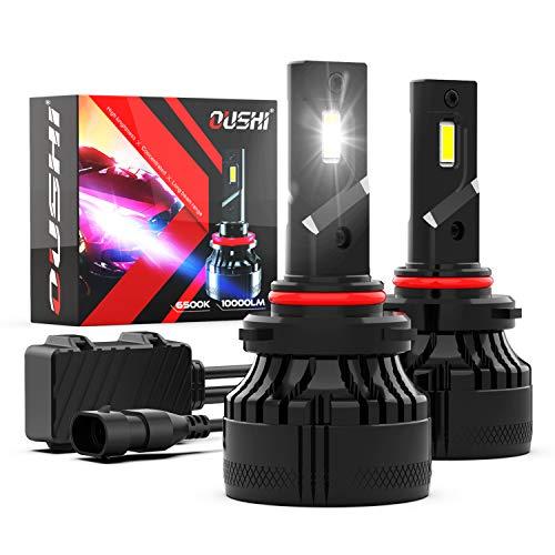 Bombilla 9005 HB3 LED Coche, OUSHI 110W 20000LM 6500K Xenon Blanco 12V Súper Brillante LED Bombillas Faros Delanteros para...