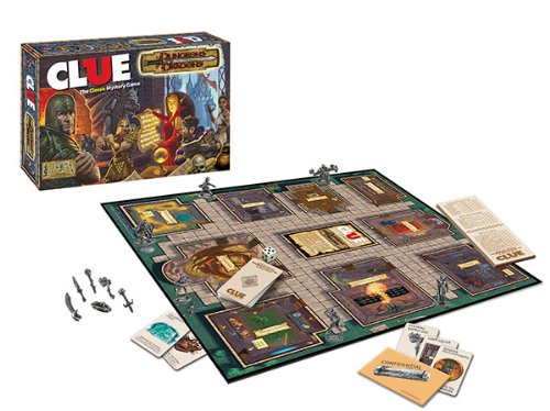 Clue: Dungeons & Dragons: The Classic Mystery Game: USAopoly: Amazon.es: Juguetes y juegos