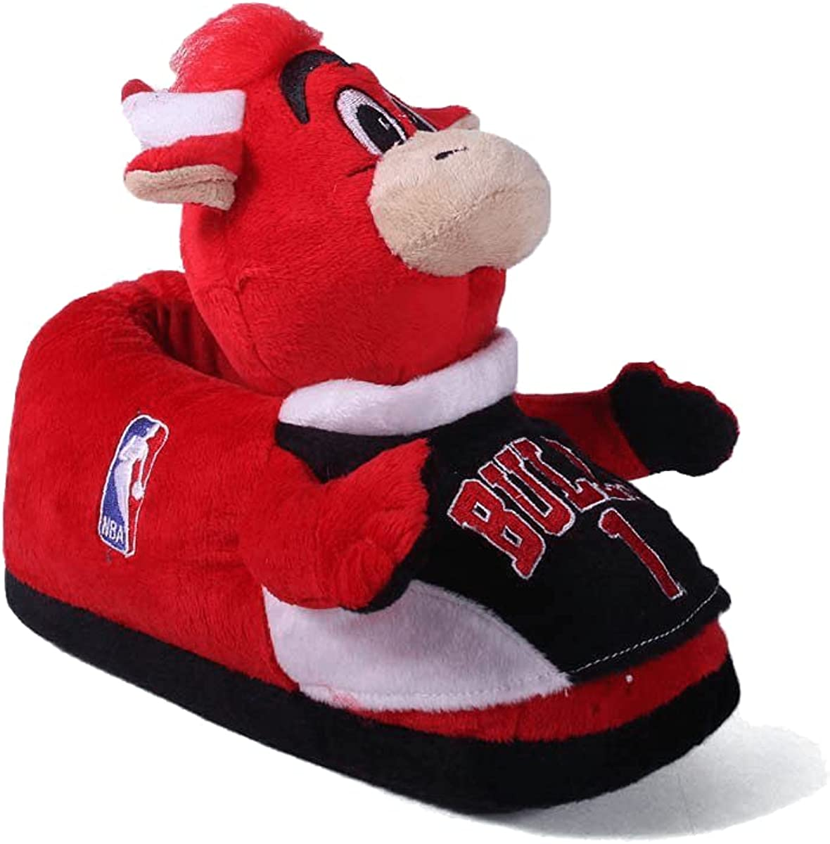 Comfy Feet Mens and Womens Officially Licensed NBAMascot Slippers