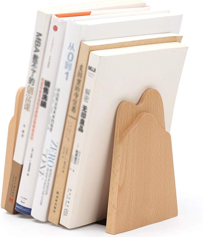 Chunlan bookshelf Space-Saving Wooden Bookshelf, Set of Two, Suitable for Desktop Kitchen Or Office