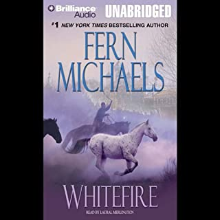 Whitefire audiobook cover art