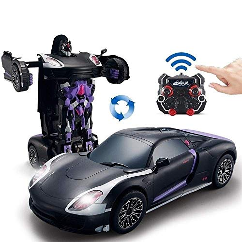 Affordable Woote 1:14 Scale Toys Cars with One-Button Deformation & 360° Rotating Drifting RC Cars ...