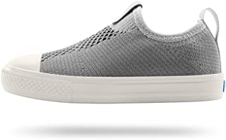 People Footwear Kids Sneaker Phillips Junior Knit, Moonrock Grey/Picket White, J1