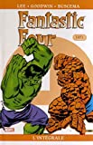 Fantastic Four l'Intégrale, Tome 4 - 1971 by Stan Lee;Jack Kirby;Archie Goodwin;John Buscema;Collectif(2012-10-10) - Panini Comics - 01/01/2012
