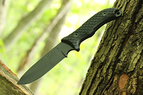 Schrade SCHF36 Frontier Full Tang Drop Point Fixed Blade Knife
