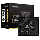 Montech BETA Power Supply 550W 80+ Bronze Certified PSU, Japanese Capacitors, 120mm Silent Fan, Continuous Power