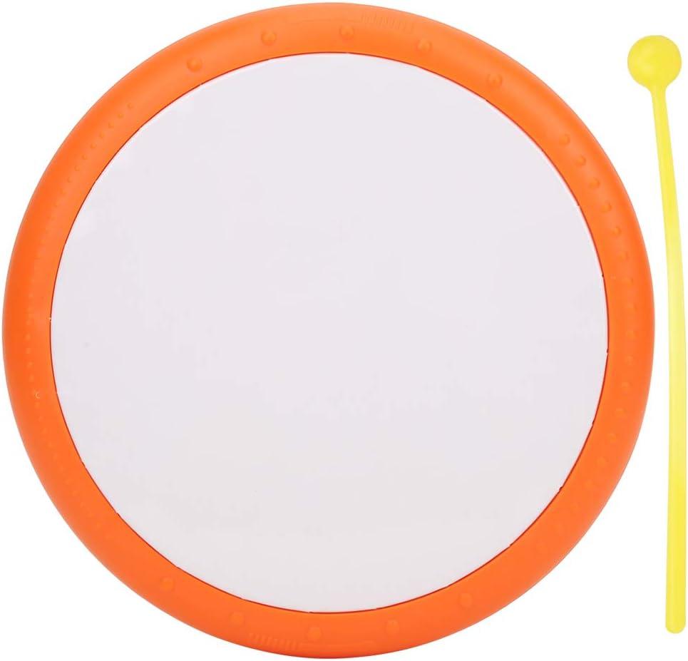 Carry Easy Plastic Tambourine Max Fashion 72% OFF Cute Shape Color Professio Bright