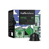 FRHOME - Nescafè Dolce Gusto 96 Càpsulas compatibles - Il Caffè Italiano - Mezcla Firenze Intensidad 9