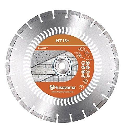 Husqvarna-diamond rueda MT 15 + de hormigón de 350 mm 25,4/20 mm húmedo - seco de corte para motor flex, de corte para amoladora, para juntas de cortador