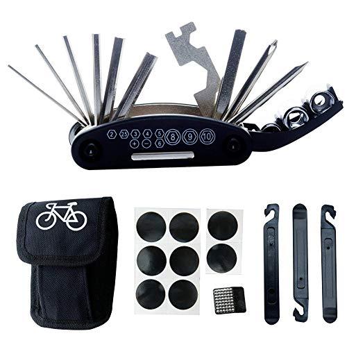 Bebliss Multifunction Fietsband reparatie kit Fietsband reparatie kit Fietsband reparatie tools Fietsen Rubber Patches Draagbare fiets reparatie tools