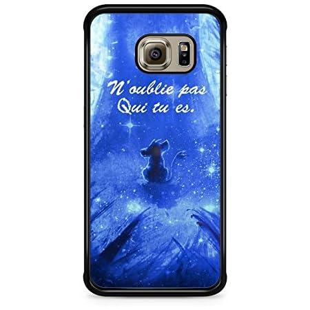 Coque Samsung Galaxy S6 Edge Disney Roi Lion Simba Hakuna Qui tu ES REF11418