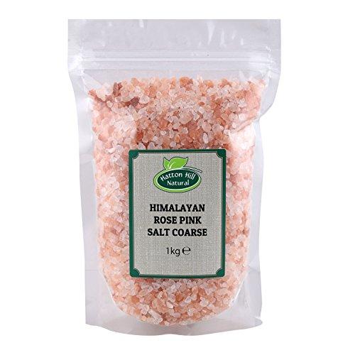 Sal de cristal rosa del Himalaya grueso 1kg de Hatton Hill