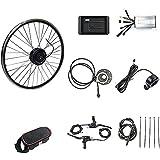 CHEIRS Kit de Conversión de Bicicleta Eléctrica 48V/1000W 20' 24' 26' 27.5' 28' 29' 700C Pulgadas Kit de Rueda de Motor de Motor de conversión de Bicicleta eléctrica,CassetteFlywheel-28INCH