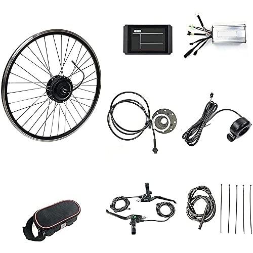 CHEIRS Kit de Conversión de Bicicleta Eléctrica 48V/1000W 20' 24' 26' 27.5' 28' 29' 700C Pulgadas Kit de Rueda de Motor de Motor de conversión de Bicicleta eléctrica,SpinningFlywheel-29INCH