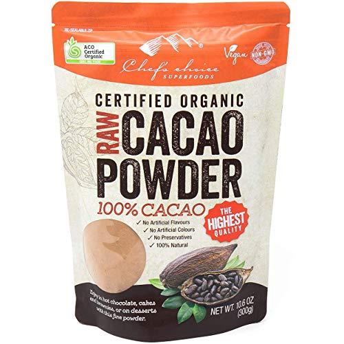 シェフズチョイス オーガニックローカカオ(ココア)パウダー 300g Organic Raw Cacao Powder