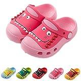 Zuecos para Unisex Niños Respirable Sandalia Zapatos Antideslizante Zapatillas Chanclas de Playa de Verano, Rosa, 28/29 EU, Etiqueta 170