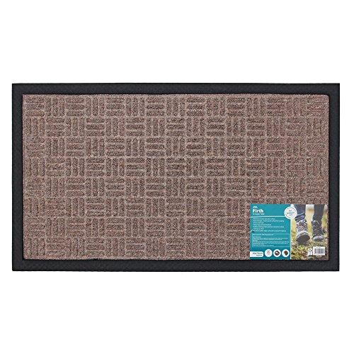 JVL Fußmatte aus Teppich und Gummi Home Office, Eltern 1