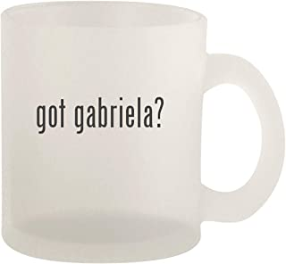 got gabriela? - Glass 10oz Frosted Coffee Mug