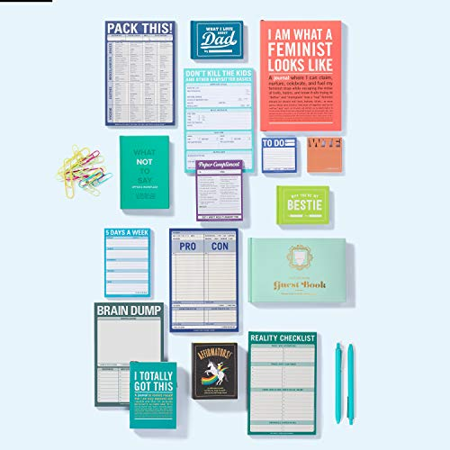 Knock Knock Brain Dump Note Pad, 6 x 9-inches Photo #5