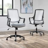 HON Basyx Helium Commercial-Grade Light Task Chair, Office, Platinum Grey