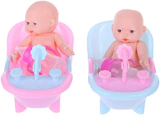 Gwxevce New Surprise Doll Baby Real Mini Bebe Girl Baby Toy
