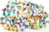 Poke mon Mini Figures Action Elf Ball 48 pcs Set ,Figure Charizard Model Toy Brinquedos Collection Anime Kids Doll,Mini Action Figures Monster Toys Set for Poke mon Game Player
