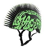 Raskullz Skelosaurus Toddler Helmet 3+, Green/Black, 48-52 cm