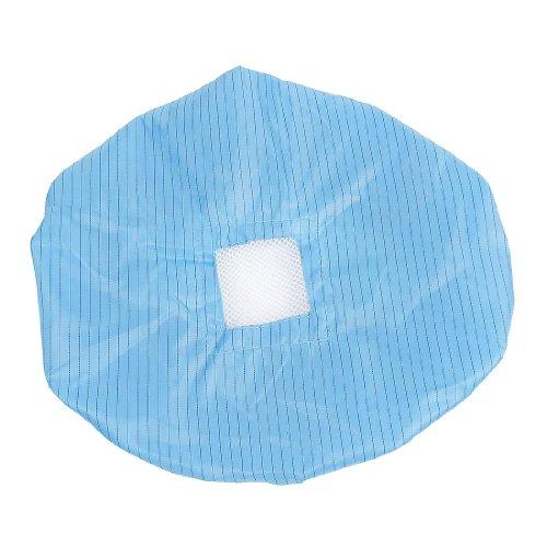 Zwarte blauwe streep patroon anti-statische pet hoed PC werkinstrument voor vrouwen mannen