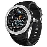 Smartwatch Uomo,Fitness Tracker Android iOS Donna Orologio Intelligente Bluetooth Smart Watch,Schermo a Colori Impermeabile,con frequenza cardiaca monitor sonno contapassi Remote Call SMS promemoria