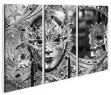 islandburner Bild Bilder auf Leinwand Maske Karneval in