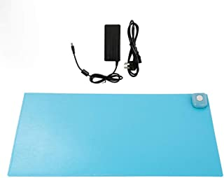 FEE-ZC Heating pad,Mouse Pad Winter Warmer Office Table Computer Mouse Pad PU Waterproof Desk Keyboard Mat Game Electric H...