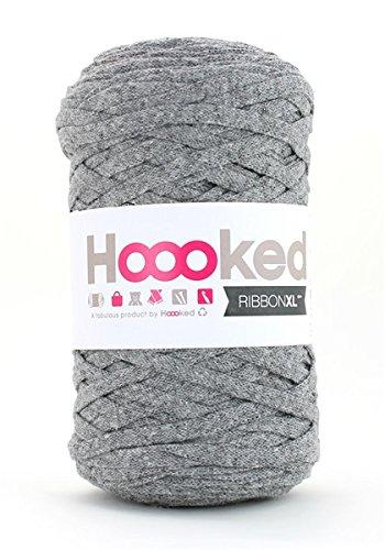 Hoooked Zpagetti Ribbon XL Bändchengarn alle Farben zur Wahl (grau)