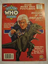 Doctor Who Magazine #203 Sep. 1993 Invasion of the Dinosaurs David Maloney Carmen Silvera