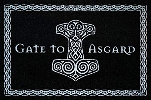 For-collectors-only Gate to Asgard - Felpudo
