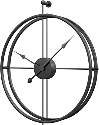 Amazon Com Univer Co Modern 3d Wall Clocks Battery Operated