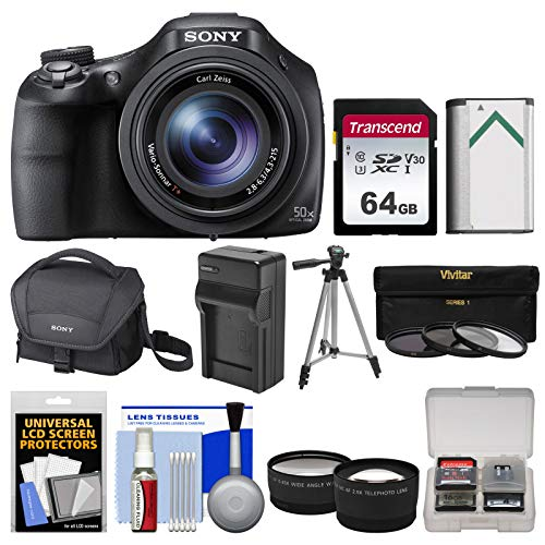Sony Cyber-Shot DSC-HX400V Wi-Fi Digital Camera...