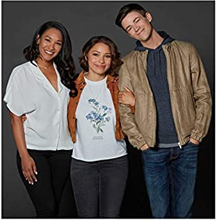 The Flash Candace Patton, Jessica Parker Kennedy, and Grant Gustin 8 x 10 Inch Photo