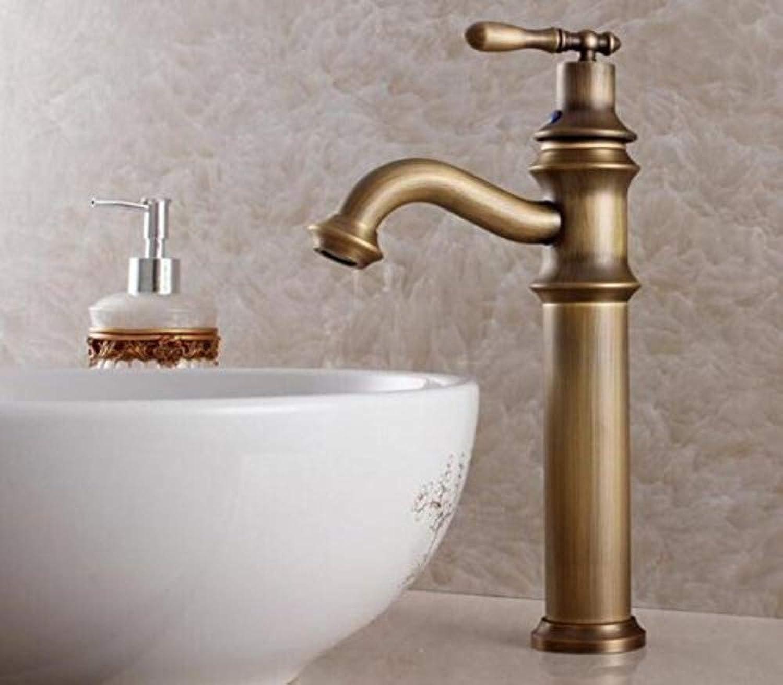 Retro Wasserhahn Griff Waschbecken Mischbatterie Antike Bronze Hohe Qualitt Heie Und Kalte Wasserhahn