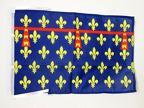 AZ FLAG Drapeau Comté dArtois 45x30cm - PAVILLON Province France - Arras 30 x 45 cm Haute qualité