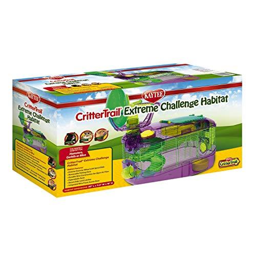 Kaytee CritterTrail X Extreme Challenge Home,Purple,10-Pound
