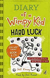 Diary of a Wimpy Kid: Hard Luck book & CD: Hard Luck book and CD by Jeff Kinney