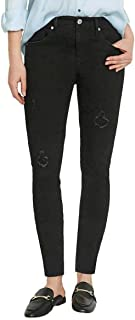 BUFFALO David Bitton Ladies' Jess Rip and Repair Jean - Black (6/28)